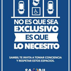 SAMBIL  LANZA CAMPAÑA DE SENSIBILIZACIÓN