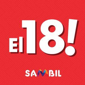 EL 18 ASUMIMOS EL ITBIS EN SAMBIL